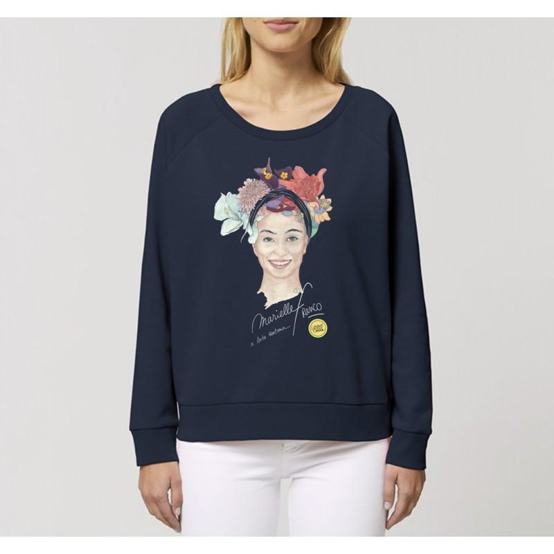 Sweat-shirt ample Marielle Franco