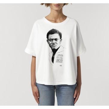 T-shirt oversize à manches retroussées |Lumumba