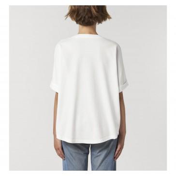 T-shirt bio femme Marielle Franco couleur blanc