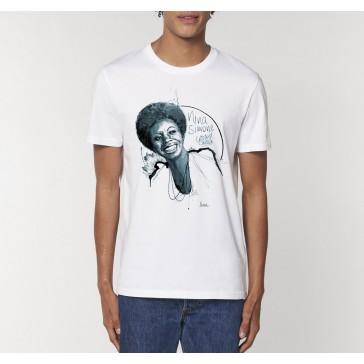 T-shirt bio Nina Simone