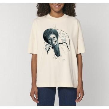 T-shirt unisex oversize | Nina Simone