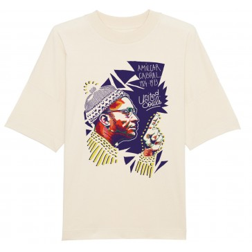 T-shirt unisex oversize | Amilcar Cabral