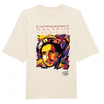 T-shirt unisex oversize    Ahmed Chah Massoud