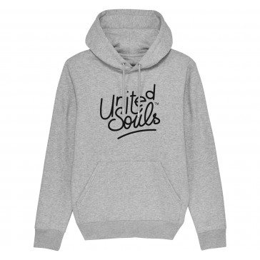 Sweat-shirt épais à capuche | United Souls gris