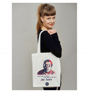 Tote bag écologique James Baldwin