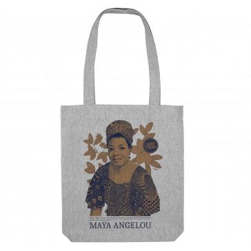 Tote bag écologique | Maya Angelou Gris