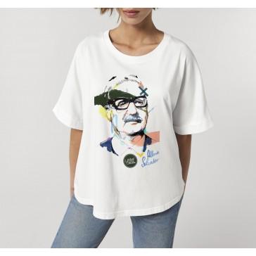 T-shirt oversize à manches retroussées | Salvador Allende