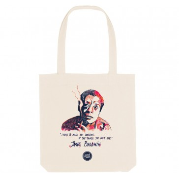 Tote bag écoloigique James Baldwin