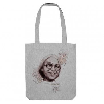 Tote bag écologique Rosa Parks - couleur gris