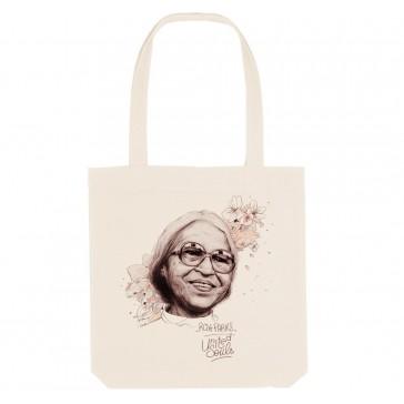Tote bag écologique Rosa Parks - couleur blanc